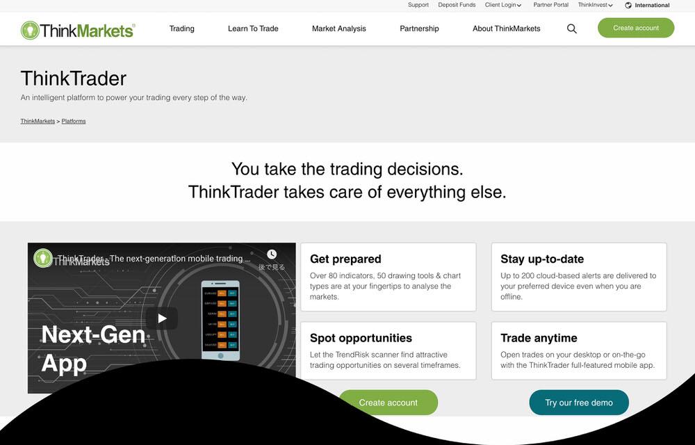 Think Trader 公式ページ