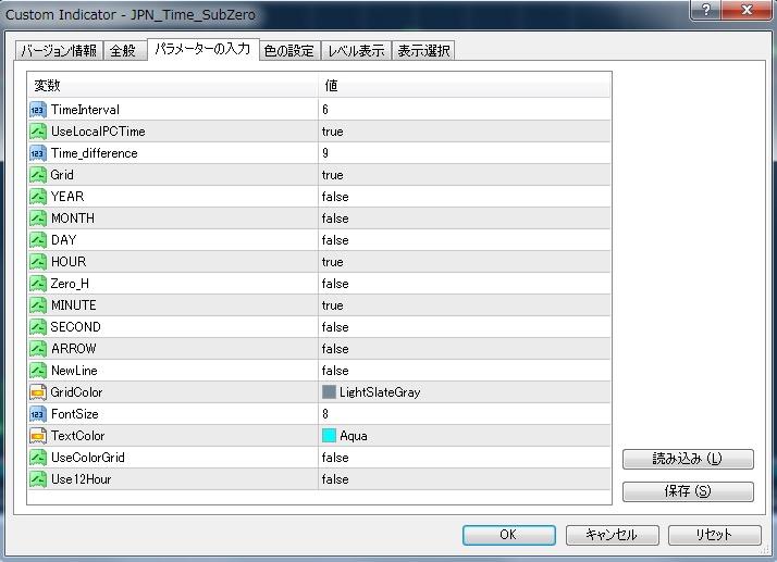 JPN_Time_SubZeroカスタマイズ